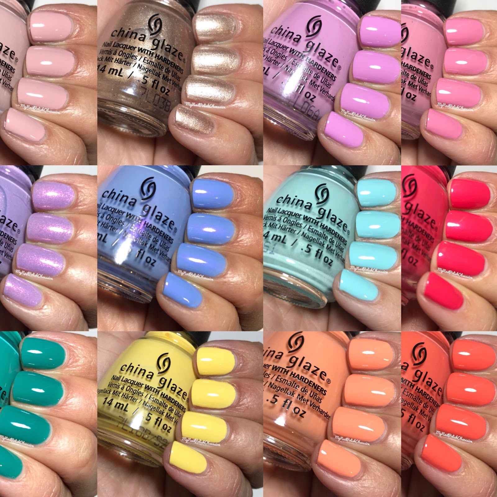 My Nail Polish Obsession: China Glaze; Chic Physique, Spring 2018
