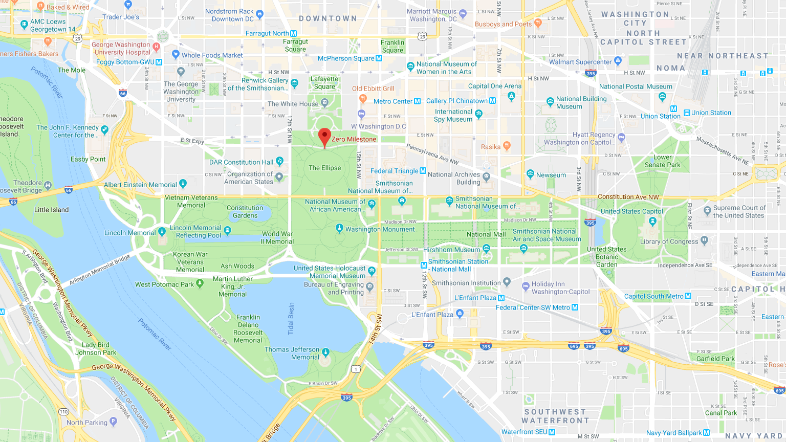 many of the attractions are located around the national mall which extends from the lincoln memorial to the library of congress all you need to begin your