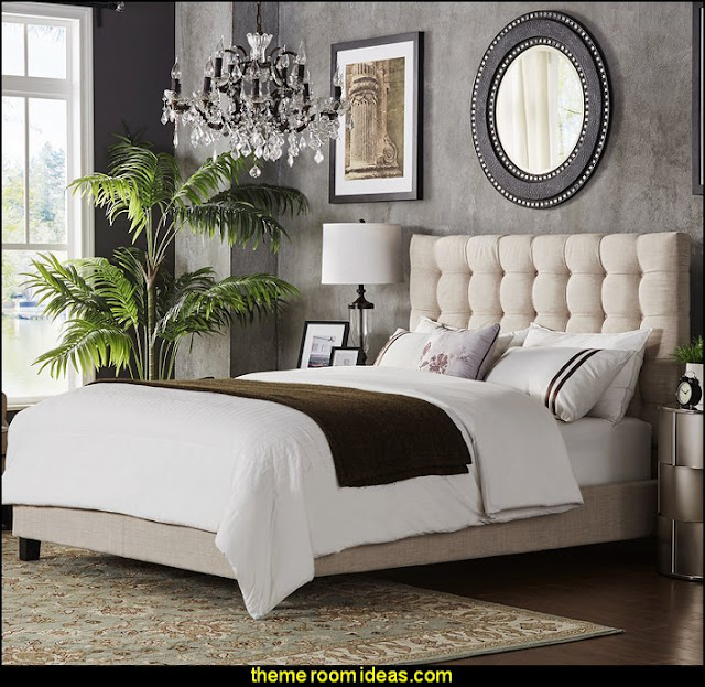 Cacho Upholstered Panel Bed