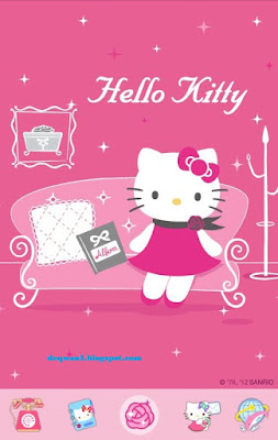 Tema Hello Kitty Cantik Di Android Gratis