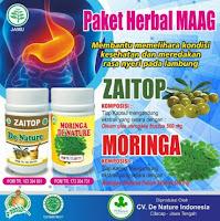 Obat Magh Kronis Asam Lambung Serta Liver Herbal Asli Zaitop&Moringa Terlaris Terpercaya Cv Denature