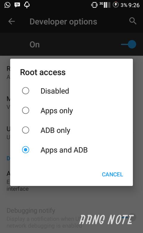 Cara Mudah Root LineageOS 13/14 1 - Aang Note
