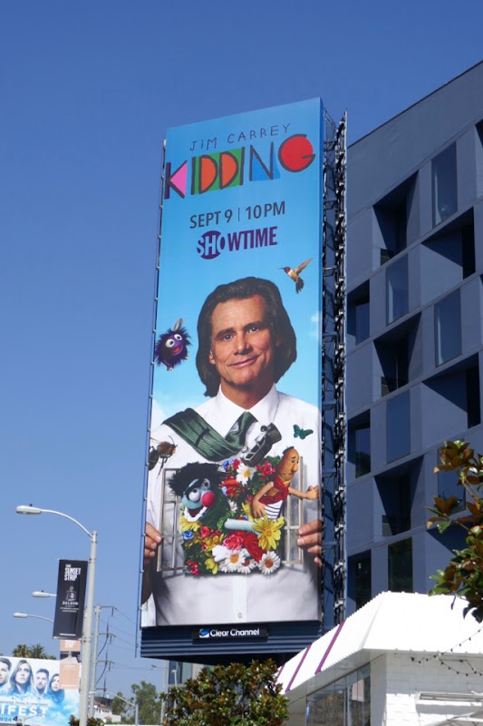 Kidding Showtime series billboard