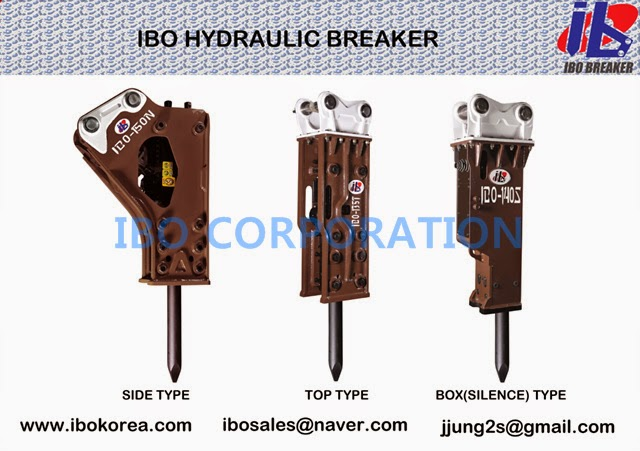 IBO CORPORATION: IBO Hydraulic Breaker (jack hammer) - BOX