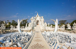 Cover Photo: Front view of the Wat Rong Khun