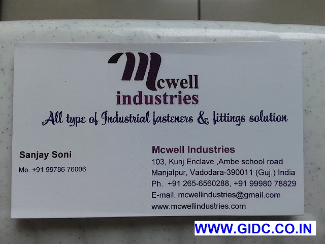 MCWELL INDUSTRIES - 9978676006