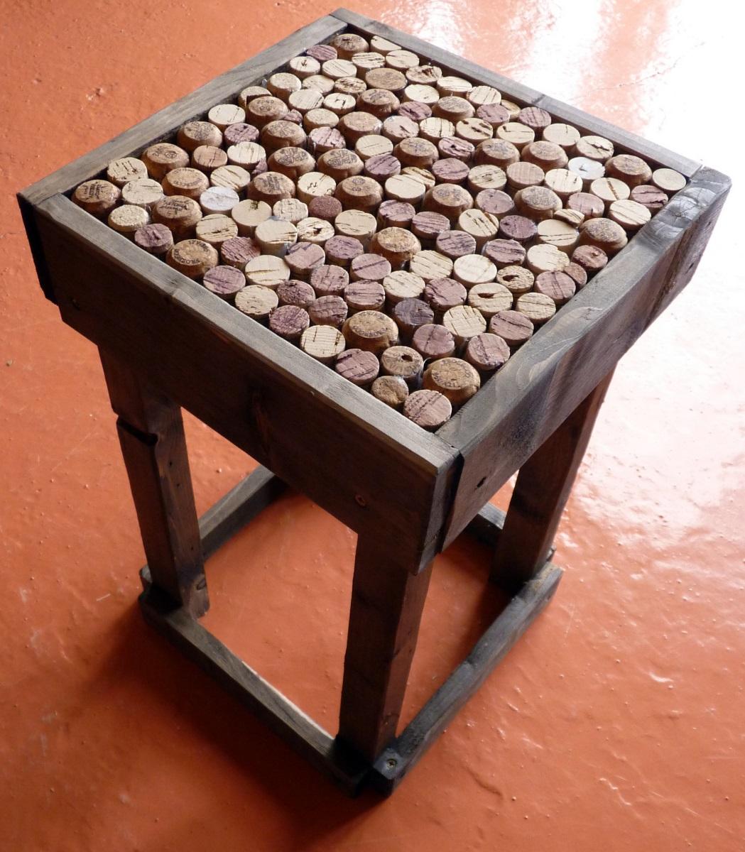 Popolare LE MIE IDEE CREATIVE..: tavolino-sgabello fatto con  IA78