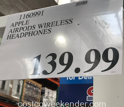 Deal for Apple AirPods Wireless Headphones at Costco