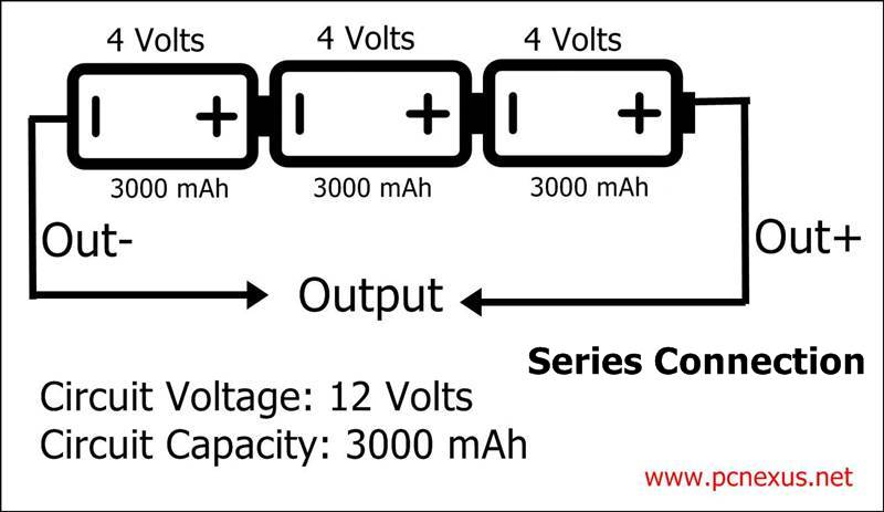 lithium ion battery pack wiring diagram