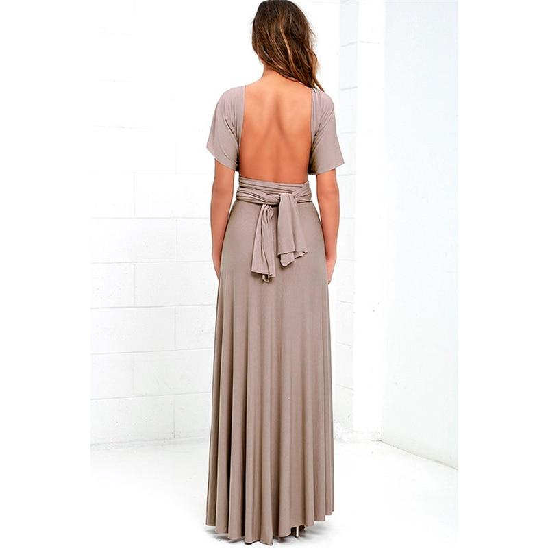 d53b4240365 Best Dress Women 2018 Long Summer Convertible Bohemian Dresses ...
