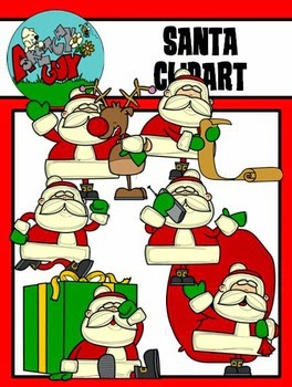 http://www.teacherspayteachers.com/Product/Santa-Claus-Christmas-Winter-Holiday-Clipart-Graphics-1558478