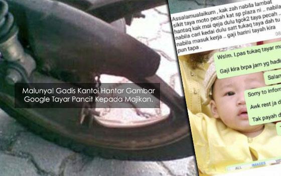 Image result for nak menipu tayar pancit