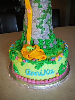 Rapunzel Cake Topper Ebay