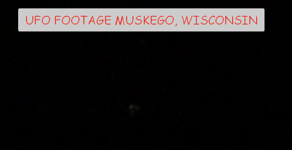 UFO Sighting in Muskego, Wisconsin on July 30, 2018.