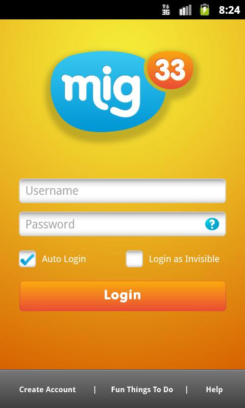 application phone: Download mig33 v3 0 apk for Android
