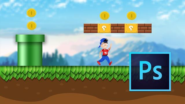 Game design : Start from zero to hero in Photoshop