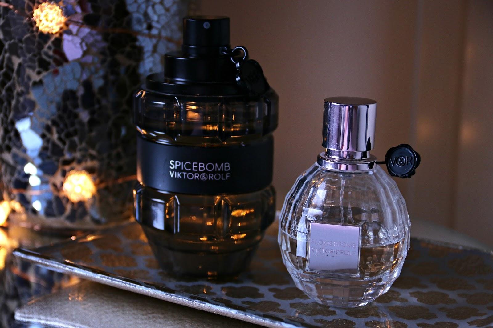 Viktor & Rolf Spicebomb and Flowerbomb Fragrance Perfume Image
