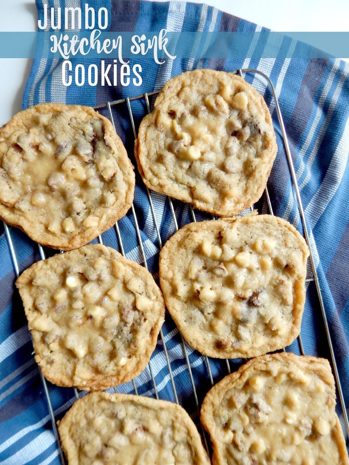Enjoyable Jumbo Kitchen Sink Cookies Interior Design Ideas Tzicisoteloinfo