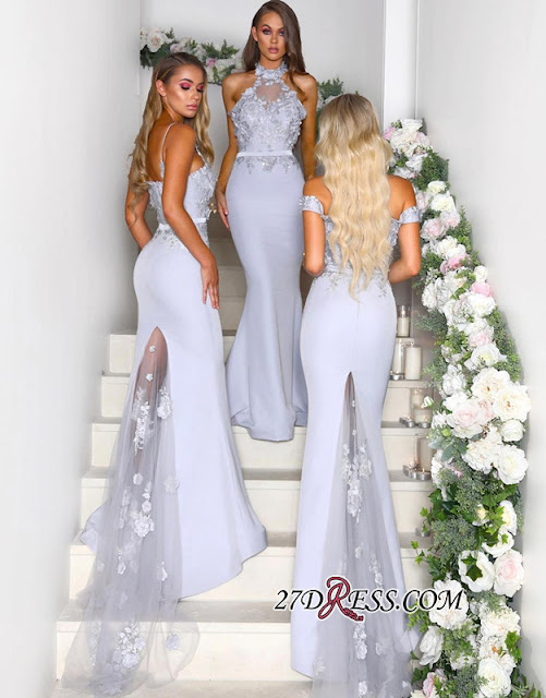 Multi-Style 2019 Bridesmaid Dress | Mermaid Lace Maid of Honor Dress On Sale