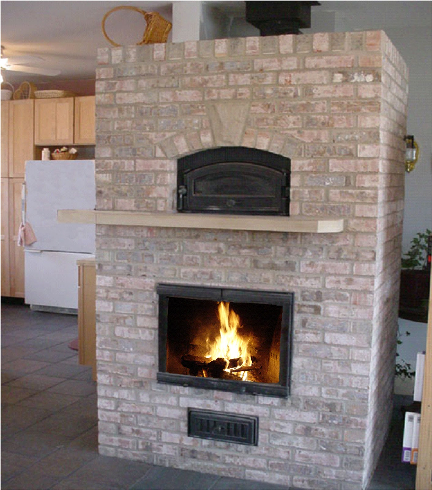 Wood Fired Heating And Cooking Be Prepared With A Masonry