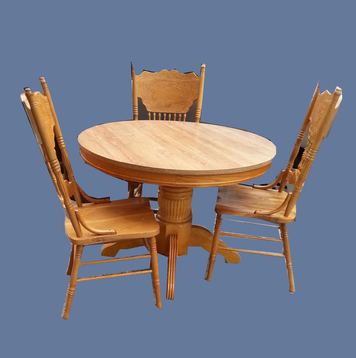 uhuru furniture  collectibles oakformica dining table