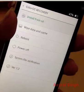 ColorOS Recovery - Reset Android OPPO FIND 5 MINI R827