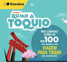 Promoção Saraiva - Concorra uma viagem para Tóquio!