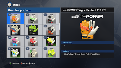 PES 2017 GlovePack ( 100 Gloves ) by Various GloveMakers