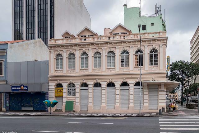 Casa da Família Lustosa restaurada - fachada voltada para a Rua Marechal Deodoro