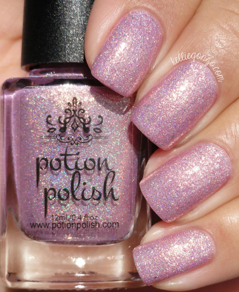 Potion Polish Even Santa Loves Pink