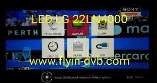 LED TV LG 22LN4000 Suara Ada Gambar Gelap