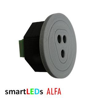 Schodowy czujnik optyczny odbiciowy odległości i ruchu ALFA smartLEDs 12V 100cm