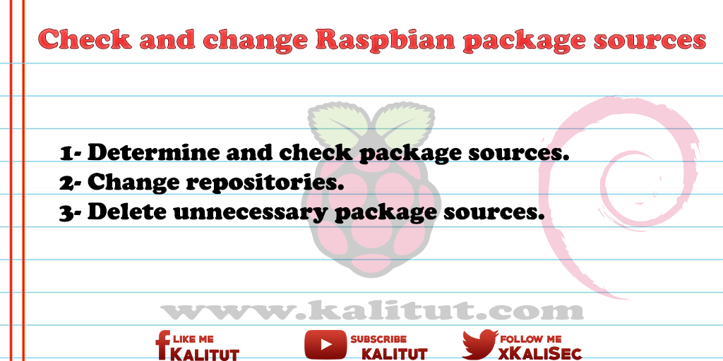 Raspbian package sources