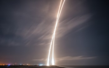 Wallpaper: ORBCOMM-2 SpaceX