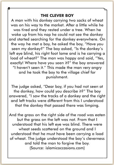 cerita pendek bahasa inggris anak pintar