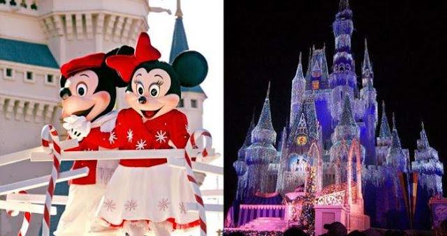 Comienza la temporada navideña en los parques Disney