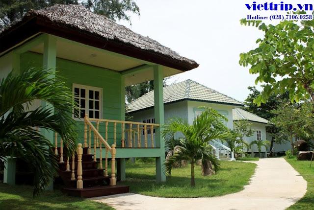 Kiến trúc nhà sàn tại Paradise Vũng Tàu