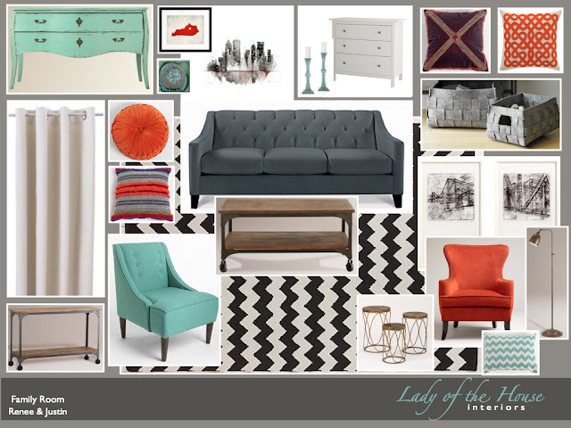 Lady of the HOUSE Interior Design Urban Vintage Modern
