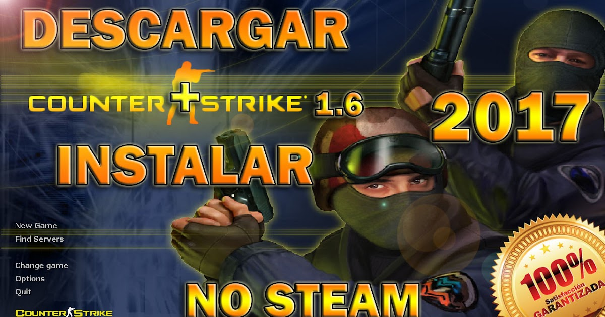 Descargar COUNTER STRIKE 1.6 NO STEAM ONLINE + BONUS ...