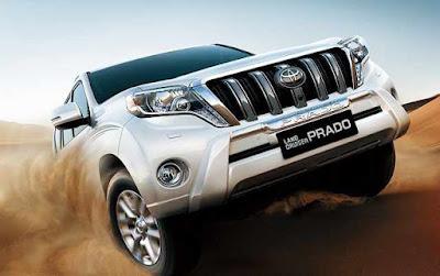 Toyota Land Cruiser Prado hd image