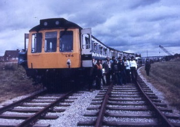 L416 at Frater on RCTS/SEG Railtour 1979