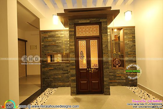 Furnished Kerala interior