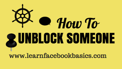 Unblock Facebook | How to Unblock Someone on Facebook