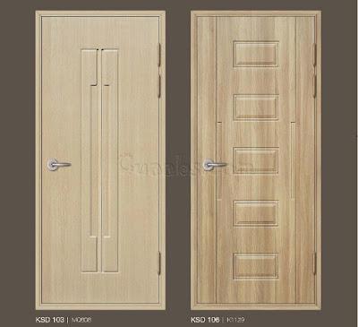 Báo giá cửa ABS giả gỗ Hàn Quốc tại TP HCM