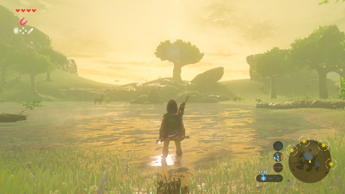 Like A Moth To A Game The Legend Of Zelda Breath Of The Wild Review