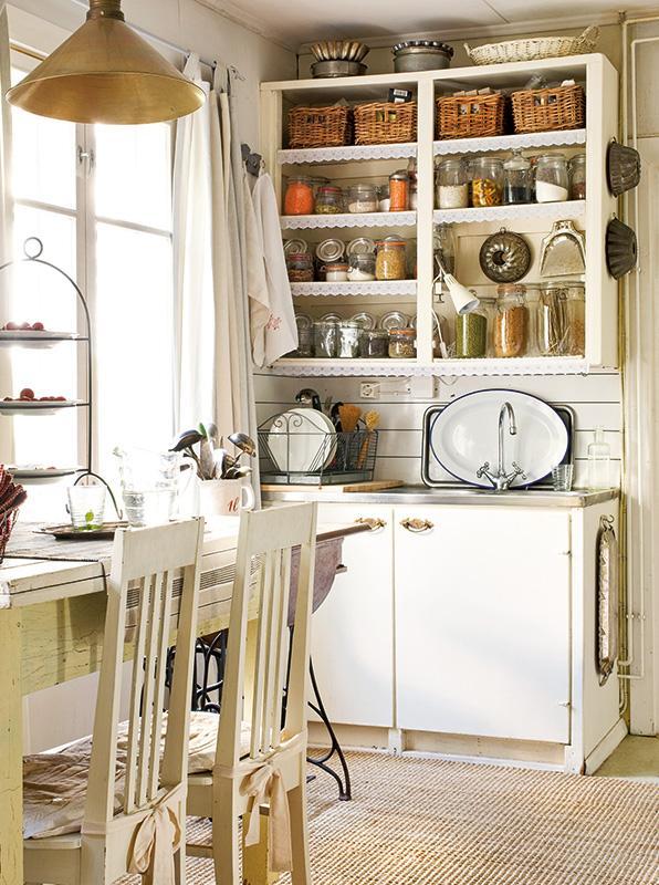 Decorando y renovando cocinas con encanto for Cocinas vintage rusticas