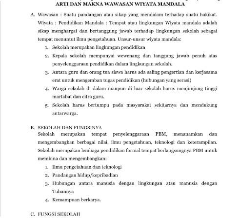 Download Materi MOS SMP MTs Menarik