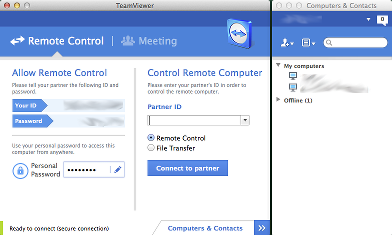TeamViewer screencap