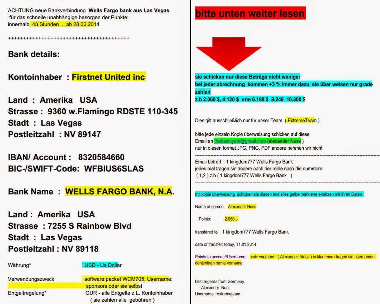 Ungewöhnlich Wells Fargo überweisungsformular Zeitgenössisch - Der ...