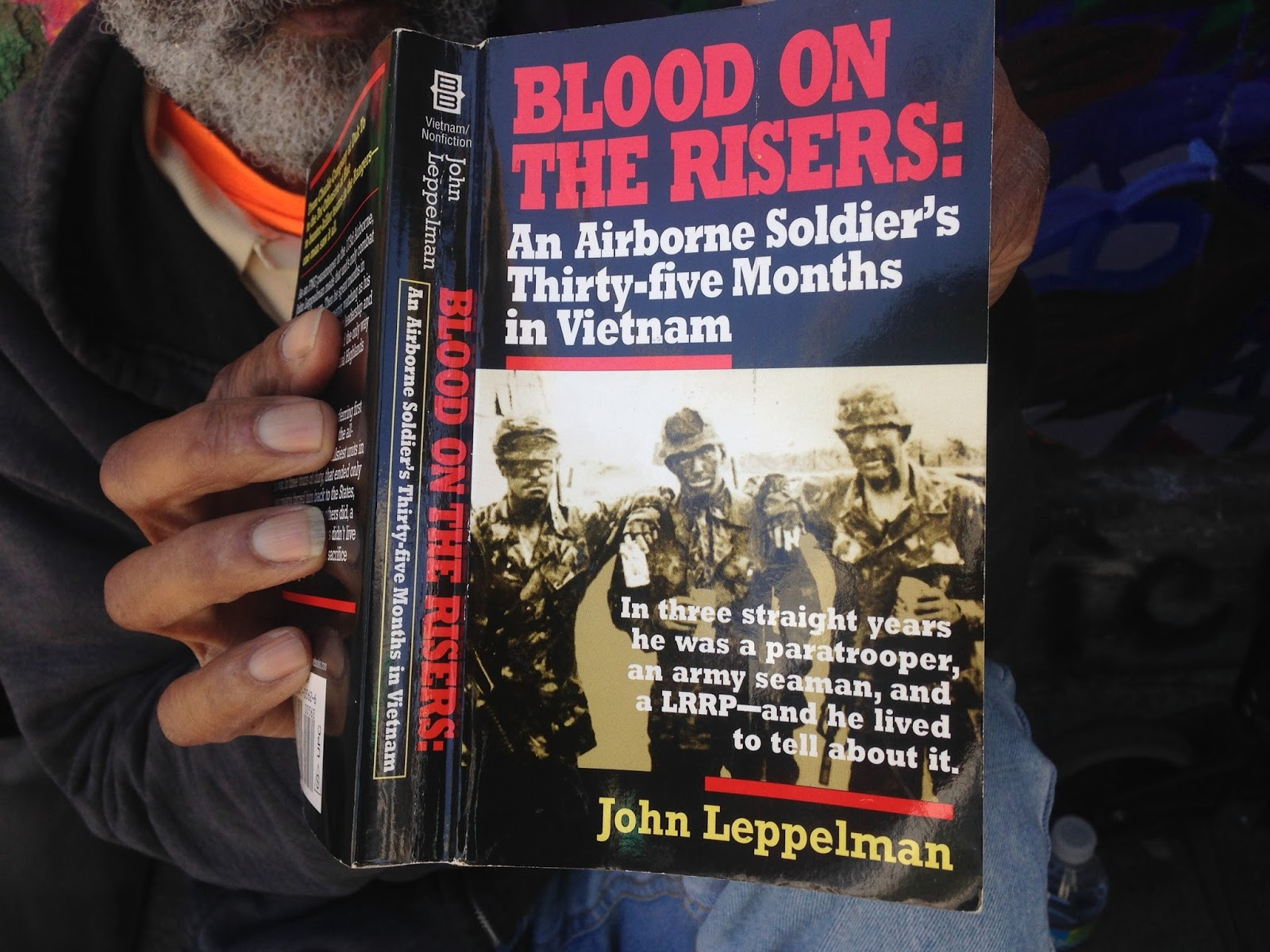 blood on the risers leppelman john